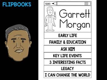 FLIPBOOKS Bundle : Garrett Morgan - Black History