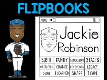 FLIPBOOKS Bundle : Jackie Robinson - Black History