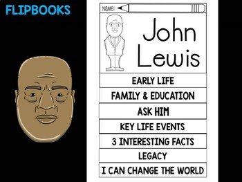 FLIPBOOKS Bundle : John Lewis - Black History