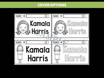 FLIPBOOKS Bundle : Kamala Harris - Black History