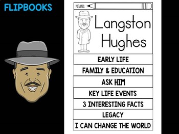 FLIPBOOKS Bundle : Langston Hughes - Black History