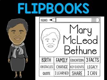 FLIPBOOKS Bundle : Mary McLeod Bethune - Black History