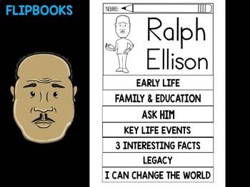 FLIPBOOKS Bundle : Ralph Ellison - Black History