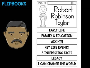 FLIPBOOKS Bundle : Robert Robinson Taylor - Black History