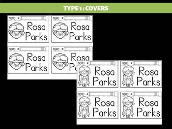 FLIPBOOKS Bundle : Rosa Parks