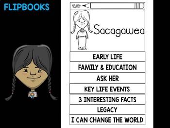 FLIPBOOKS Bundle : Sacagawea