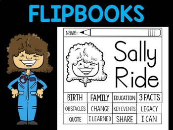 FLIPBOOKS Bundle : Sally Ride
