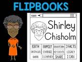 FLIPBOOKS Bundle : Shirley Chisholm - Black History