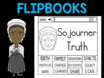 FLIPBOOKS Bundle : Sojourner Truth - Black History