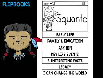 FLIPBOOKS Bundle : Squanto