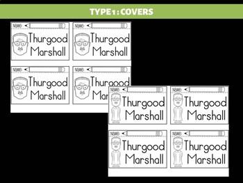 FLIPBOOKS Bundle : Thurgood Marshall - Black History