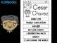 FLIPBOOKS Bundle : Cesar Chavez Flip book