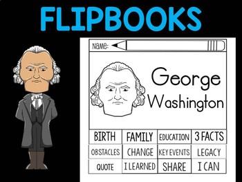 FLIPBOOKS Bundle : Flipbook - George Washington