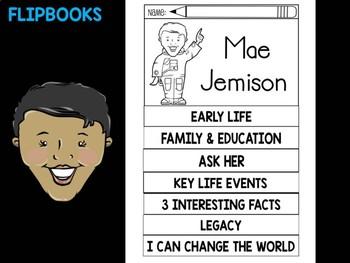 FLIPBOOKS : Flip book - Mae Jemison