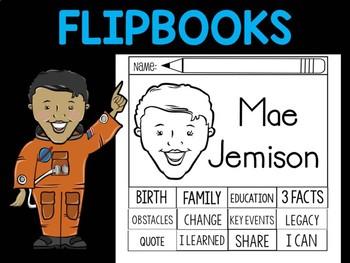 FLIPBOOKS Bundle : Flip book - Mae Jemison