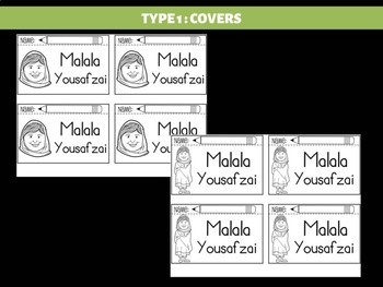 FLIPBOOKS Bundle : Flip book - Malala Yousafzai