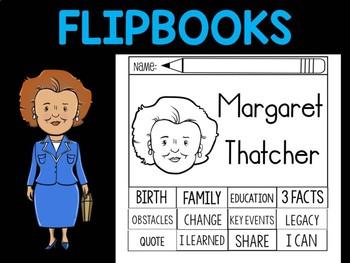 FLIPBOOKS Bundle : Flip book - Margaret Thatcher