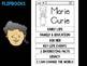 FLIPBOOKS Bundle : Flip book - Marie Curie
