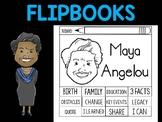 FLIPBOOKS Bundle : Flip book - Maya Angelou