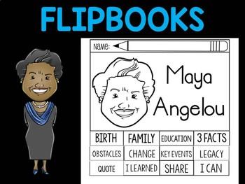 FLIPBOOKS Bundle : Flip book - Maya Angelou
