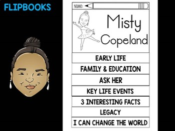 FLIPBOOKS : Flip book - Misty Copeland