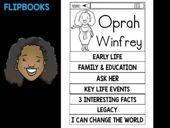 FLIPBOOKS : Flip book - Oprah Winfrey