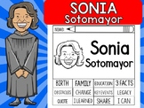 FLIPBOOKS SET : Sonia Sotomayor - Latino and Hispanic Heritage