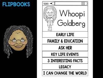 FLIPBOOKS Bundle : Flip book - Whoopi Goldberg