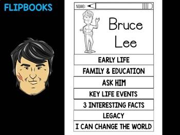 FLIPBOOKS Bundle : Flipbook - Bruce Lee, Asian American History
