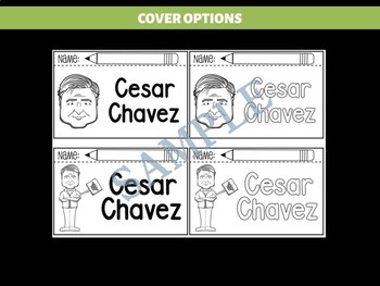 FLIPBOOKS SET : Cesar Chavez - Latino & Hispanic Heritage