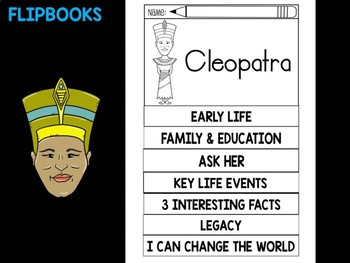 FLIPBOOKS Bundle : Flipbook - Cleopatra