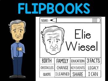 FLIPBOOKS Bundle : Flipbook - Elie Wiesel
