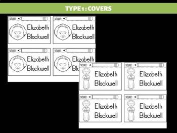 FLIPBOOKS Bundle : Flipbook - Elizabeth Blackwell