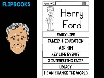 FLIPBOOKS Bundle : Flipbook - Henry Ford