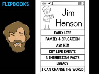 FLIPBOOKS Bundle : Flipbook - Jim Henson, Sesame Street