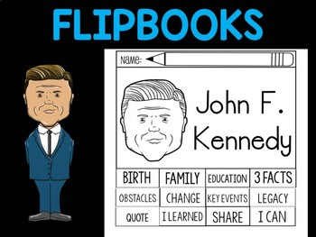 FLIPBOOKS : Flipbook - John F. Kennedy, US President, JFK