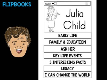 FLIPBOOKS Bundle : Flipbook - Julia Child