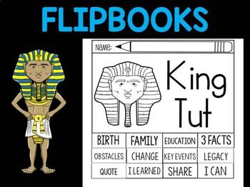 FLIPBOOKS : Flipbook -  King Tut,  Egypt Pharaoh