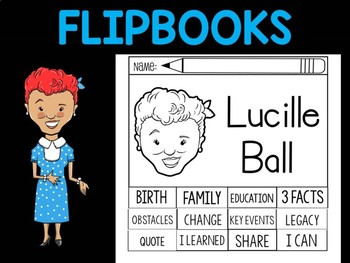 FLIPBOOKS Bundle : Flipbook - Lucille Ball, I Love Lucy