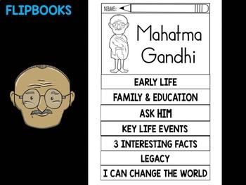 FLIPBOOKS Bundle : Flipbook -  Mahatma Gandhi