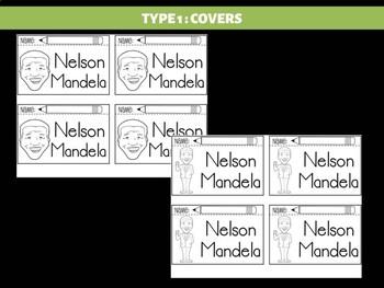 FLIPBOOKS Bundle : Flipbook -  Nelson Mandela