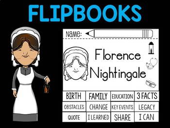 FLIPBOOKS : Florence Nightingale