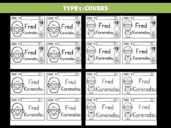 FLIPBOOKS : Fred Korematsu - Civil Rights Heroes