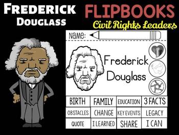 FLIPBOOKS : Frederick Douglass - Civil Rights Heroes