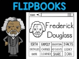 FLIPBOOKS Bundle : Frederick Douglass Flip book, Black History