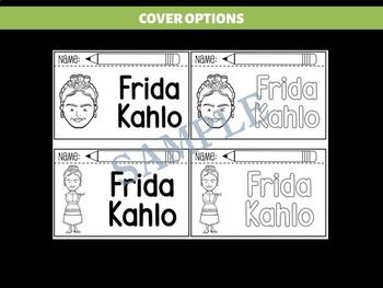 FLIPBOOKS : Frida Kahlo