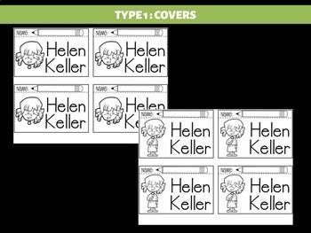FLIPBOOKS Bundle : Helen Keller Flipbook