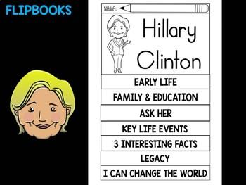 FLIPBOOKS : Hillary Clinton - flip book