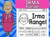 FLIPBOOKS SET : Irma Rangel - Latino & Hispanic Heritage