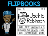 FLIPBOOKS Bundle : Jackie Robinson Flip book, Black History